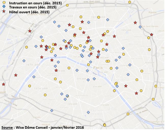Wisedome - cartes des projets hôteliers parisiens v2