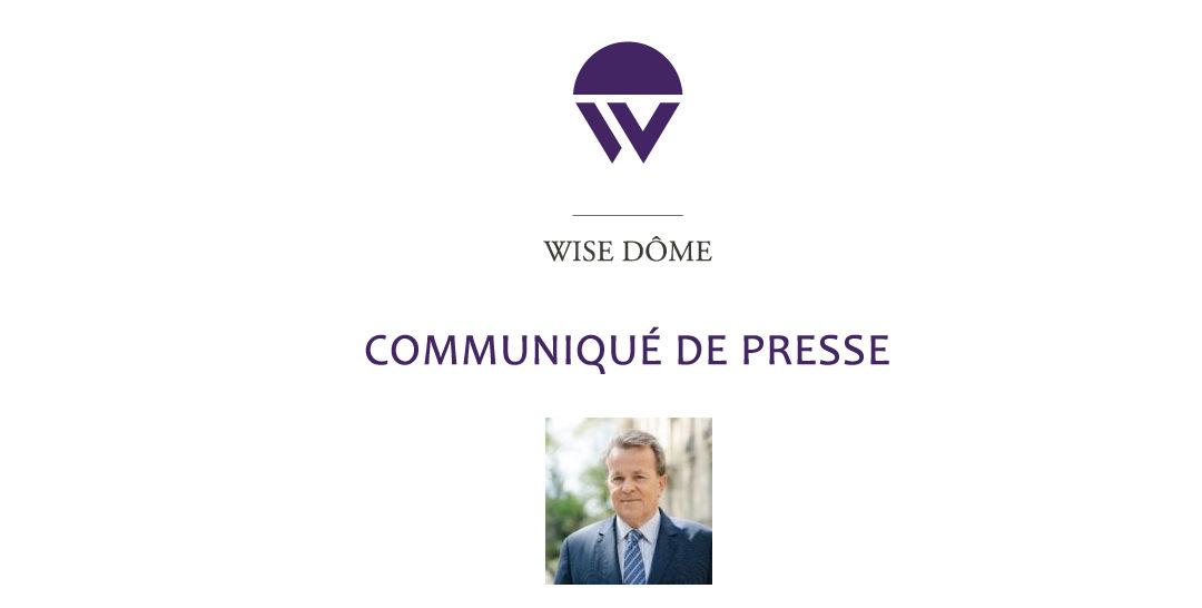 Communiqué de presse : Wise Dome poursuit sa croissance